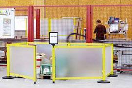 NeXtrac Safety Flex - barrier system