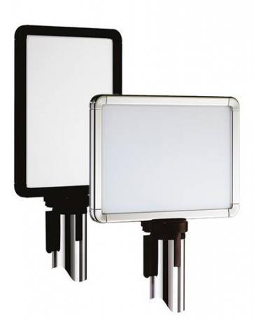 Retractable Barrier Sign Frames (Beltrac)