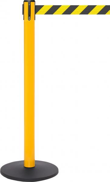 FlexiBarrier Belt Stanchion -SafetyPro 250- (3.4m belt)