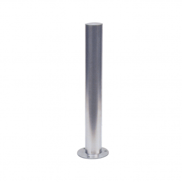Stainless steel post Ø 60 mm-102mm, fixed with bolts