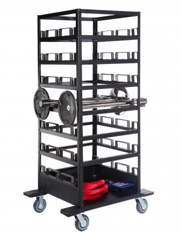 21 Post Storage Cart