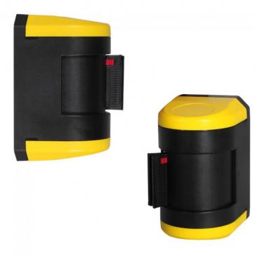 Basic 4-way Wall mounted retractable belt barrier (4.6m)