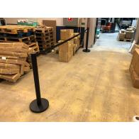 FlexiBarrier Belt Stanchion -Basic 550- (4.9m belt)
