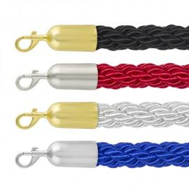 Barrier Rope -Standard- Slide snap-ends (Custom length)