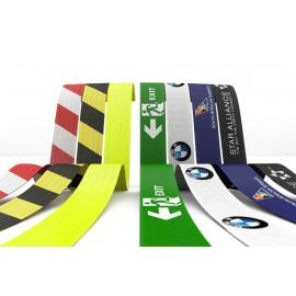 Dye sublimated digital printing