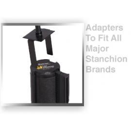 Literature Holder for Belt Stanchions