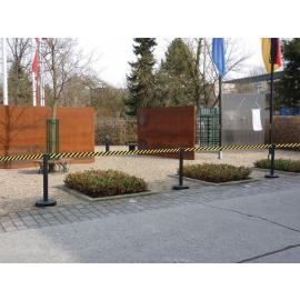 Stanchion package Beltrac Outdoor - 10pcs - (up to 37m)